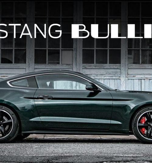 Ford Mustang Bullit 2019 New Tab for Google Chrome
