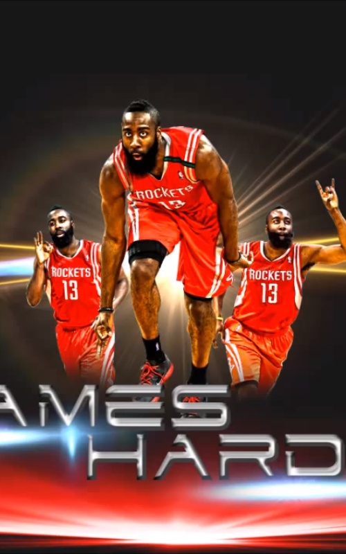 James Harden New Tab for Google Chrome