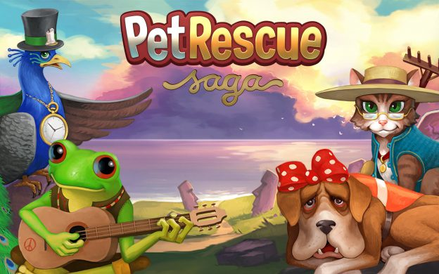 Pet Rescue Saga New Tab for Google Chrome