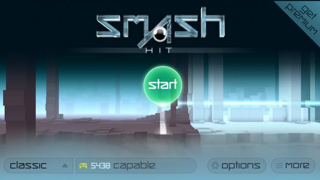 Smash Hit New Tab for Google Chrome