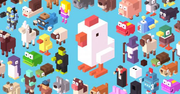 Crossy Road New Tab for Google Chrome